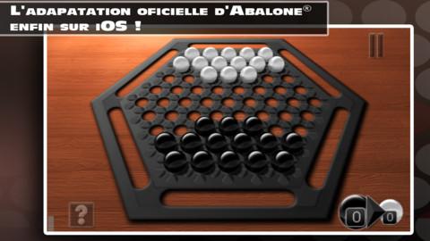Test du jeu Abalone, réflexion et stratégie sur iPad Mini