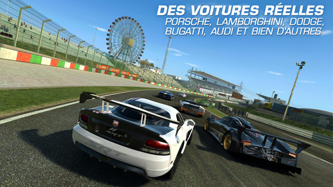 real racing 3 jeu de course gratuit du jour disponible sur iphone ipod touch et ipad ipod games. Black Bedroom Furniture Sets. Home Design Ideas