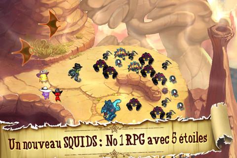 Squids Wild West, les poulpes débarquent pour de nouvelles aventures sur iPhone, ipod touch et iPad